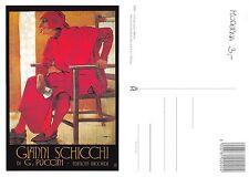 Milano GIANNI SCHICCHI di G. Puccini ED RICORDI - CARTOLINA MODERNA (I-L 099)