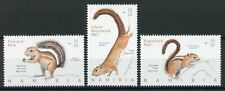 More details for namibia wild animals stamps 2020 mnh squirrels tree squirrel fauna 3v set