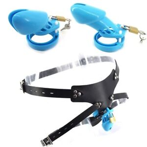Silicone Male Strap On Chastity Cage Wearable Pants Cock Cage Bondage Belts BDSM