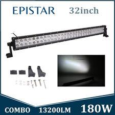 32Inch 180W LED Light Bar Off road Driving Fog Light Combo Epistar Slim Vehicle