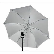 "33"" 83cm Studio Video Flash Light Photograph Diffuser Translucent White Umbrella"