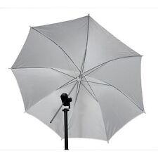 """33"""" 83cm Studio Video Flash Light Photograph Diffuser Translucent White Umbrella"""