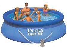 INTEX 28132 PISCINA ROTONDA EASY SET CM 366 X H76 CON POMPA FILTRO PISCINE