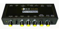 K&K Sound Pure XLR Mach 2 Parametric 18 Volt High Power Guitar Preamp/EQ/DI