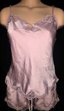 Victorias Secret Pink Very SEXY Sleep Satin Camisole Shorts Pajama LOT XS NWT