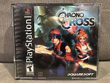 Chrono Cross (Sony PlayStation 1, 2000) - Complete (CIB) & Tested - Black Label