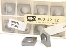 10 NEW SURPLUS COMMAND URMA A00-12-12 CARBIDE INSERT SHIMS / SEATS