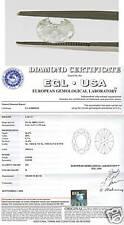 1.22ct EGL Oval Brilliant H/SI2 Diamond