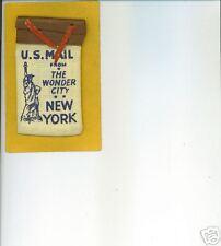 New York Souvenir - 8 Linen Buildings & Sites