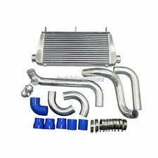 Intercooler Kit + BOV For Toyota Supra 1JZ-GTE 1JZGE MK III MK3 Single Turbo