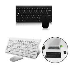 Für PC Computer Kabellos Funk USB Wireless Keyboard Tastatur und Maus Bluetooth.