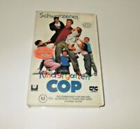 Kindergarten cop  VHS Pal Schwarzenegger Big Box Ex Rental