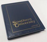 Vintage 1996-98 Baton Rouge LA Southern University A&M Jaguar College Yearbook