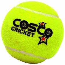 Lot of 12 Cosco Heavy Duty Tennis Cricket Green Ball Sports Outdoor Play