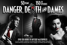 Danger, Death, And Dames: Film and TV Crime Dramas (DVD, 2015, 24-Disc Set)