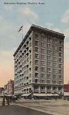 Schweiter Building in Wichita KS Postcard 1916