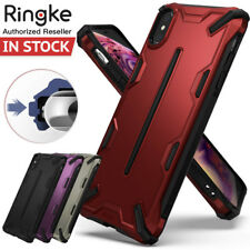 iPhone XS Max XR Case Ringke Dual X Layered Hard Bumper Shock-Proof Cover Apple
