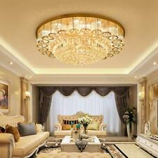 31.5'' Luxury Crystal Pendant Chandeliers Led Ceiling Lamps Living Room Lighting