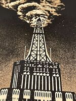 Shepard Fairey Obey Giant Oil & Gas Building Fine Art Print Poster Free Shipping