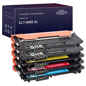 XL Toner für Samsung CLT-406S Xpress C460W C460FW C410W C460 CLX-3305 CLX-3305FN