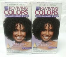 2 ~ Dark and Lovely Reviving Colors # 395 Natural Black Hair Color Dye Read
