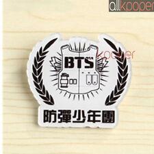 KPOP BTS Chest Pin Bangtan Boys Logo Badge Brooch Jung Kook V JIMIN SUGA