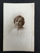 Vintage Postcard - RP Anonymous Women - #106 - Westermans Hebden Bridge