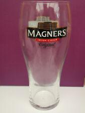 Two (2x) Magners Original Irish Cider pint glasses