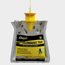 Rescue YELLOW JACKET TRAP Hornets Wasps Hanging Non-Toxic Disposable YJTD-DB12-E