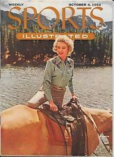 Sports Illustrated 1954 JOYCE SELLERS Estes Park Colorado NEWSSTAND Near Mint