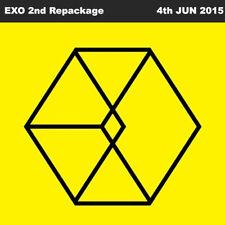 EXO LOVE ME RIGHT 2nd Album Repackage Korean Ver CD+72p Photo Book+Photo Card
