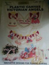 Plastic Canvas Victorial Angels Pattern