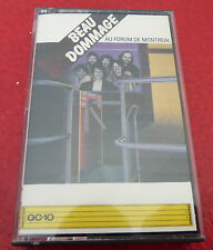 Cassette Audio Beau Dommage Au Forum de Montréal Live ! Polygram Canada Records