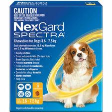 NexGard Spectra Wormer And Flea Chew (6 Packs)