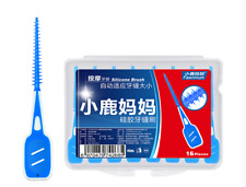20pcs/box Interdental Teeth Floss Brush Elastic Massage Gum Toothpick Oral