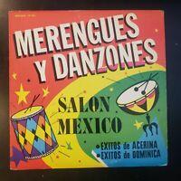 """Acerina / Dominica """"Merengues y Danzones / Salon Mexico"""" Vinyl Record LP"""