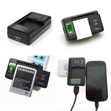 LCD Universal Dock Battery Charger With USB Port For LG HTC Nokia Huawei Samsung