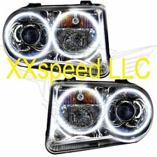 ORACLE Halo HEADLIGHTS NON HID Chrysler 300C V8 05-10 WHITE PLASMA Angel Eyes
