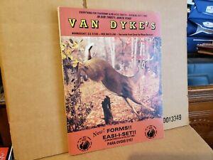 1987 Van Dyke's Taxidermy Catalog 33-T