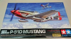 Tamiya 1/32 North American P-51D Mustang - Kit  ref 60322
