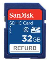 Wholesale LOT SanDisk 32GB SD 32G SDHC Class 4 SD Camera memory card SDSDB-032