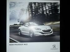 Peugeot RCZ Brochure 2013