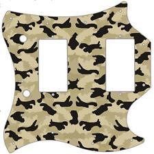 SG Standard Pickguard Custom Gibson Graphic Guitar Pick Guard Camouflage Desert