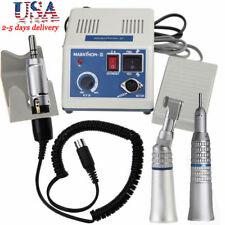 Dental Lab Marathon Electric Micro Motor N3 + Contra Angle Straight Handpiece MA