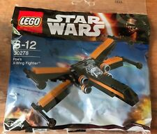 LEGO STAR WARS THE FORCE AWAKENS 30278 Poe's X-Wing Fighter BRAND NEW & SEALED