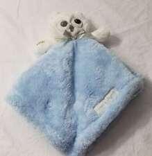 New listing Blankets & Beyond Nwt Htf Lovey Security Plush Bird Owl Blue Gray White New Boy