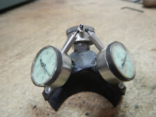 Machinist Inspection Jig Fixture With 3 Federal Dial Indicators