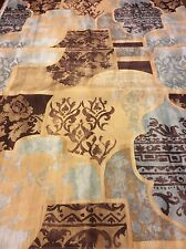 Fabric Shower Curtain Multi Designs Floral Fleur De Lis NEW