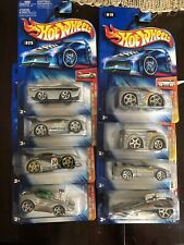 Hot Wheels 2004 Zamac Lot Of 8 Cars Variations 1st Ed Dodge Deora Toyota Eclipse