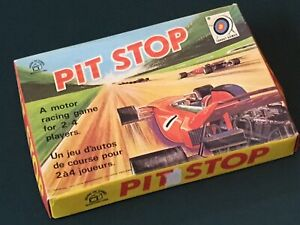 Pit Stop game by Target Games/Waddiingtons 1972(329)